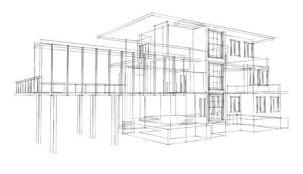 3D Architecture Sketch